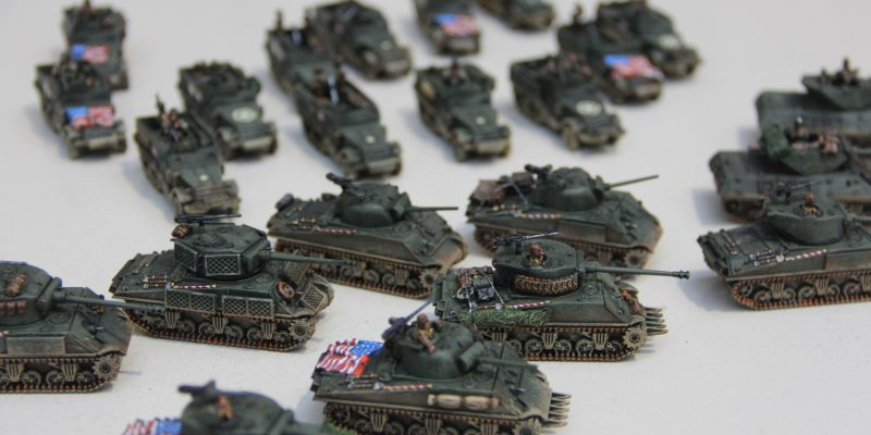 Painting a FOW Army: how to field totally unique tanks and