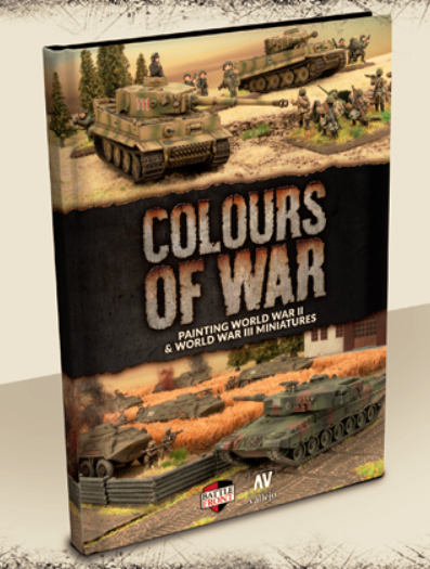 50 Shades of Green: Battlefront Colours of War book – No