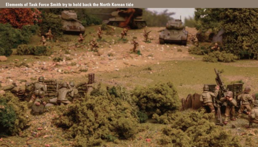 United States and United Nations Forces in Bolt Action Korea